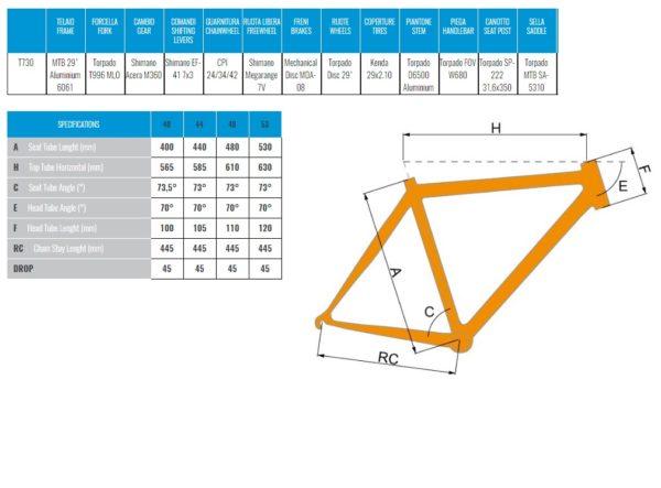 """29"""" jalgratas MERCURY T730B"""
