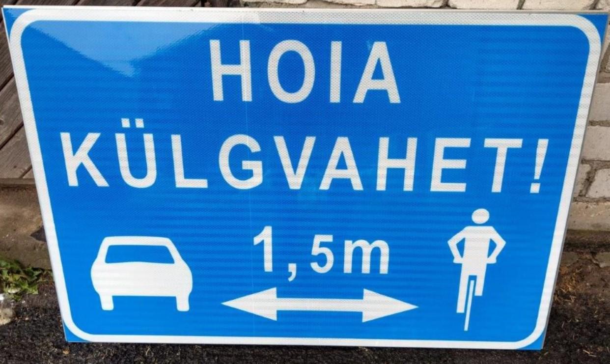 e02c62bf48f Maanteeametilt suurepärane uudis jalgratturitele - Altan Team ...